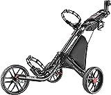 CaddyTek Golfwagen golf trolleys 3 Rad Golf Push cart leicht...
